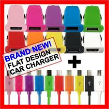 Fast Micro USB Cable Car Charger for Samsung Galaxy S7 S6 S4 S3 S2 Note 2 Mini