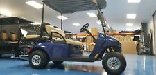 2014 EZGO 48V GOLF CART FACTORY CERTIFIED REFURBISHED BLUE NEW BATTERIES