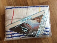 Vintage Esmond By Chatham Scandia Grid Twin/Full Blanket