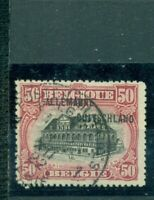 Belgische Militärpost im Rheinland, 10 II gestempelt