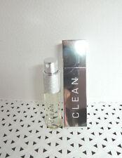 2 pc Set Fusion Clean WARM COTTON edt PERFUME Spray 0.5 oz & Refillable Case@