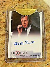 Rittenhouse X Files Archives William B. Davis Cigarette Smoking Man! Sealed!