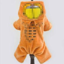 Pet clothing dog hoodie cartoon made pet jumpsuit warm cat apparel