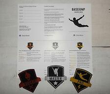 Set Schwimmabzeichen Basejump + Pass, Bronze, Silber, Gold, Sprungabzeichen