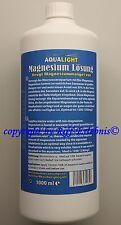 Aqua Light Magnésium Solution 1000ml pour Aquariums Marins 9,90€/ I