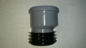 Steckmuffe Exzentrische HT - Rohr  100  Universal