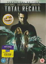 TOTAL RECALL - Colin Farrell, Kate Beckinsale, Jessica Biel (DVD + UV CODE 2012)