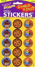 60 lots de (chocolat) scratch et Sniff Reward stickers