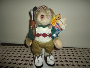 "Brass Button Pickford Sports Bears GOLF "" Crosby """