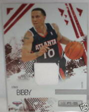 Mike Bibby  # 177 / 250  White  JERSEY  Card     Hawks