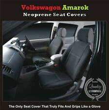 TOP VOLKSWAGEN (VW) AMAROK FRONT PREMIUM WATERPROOF NEOPRENE CAR SEAT COVERS