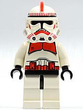 LEGO 7655 - STAR WARS - Clone Trooper / Shock Trooper - Minifig / Mini Figure