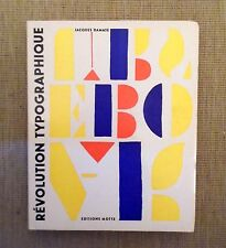 Revolution Typographique by Jacques Damase. 1966.