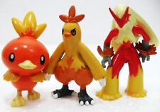 """FAKES/FALSI-Pokemon monster evoluzioni- """"TORCHIC, COMBUSKEN e BLAZIKEN"""" -n°255/7"""