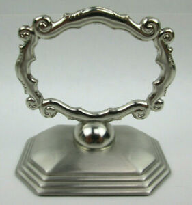 8 Redmont Heirloom Napkin Rings with Place Holder Slots Southern Living at Home