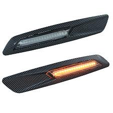 LED Seitenblinker Blinker BMW 1er 3er 5er X1 X3 Carbon Optik Klarglas TÜV-FREI