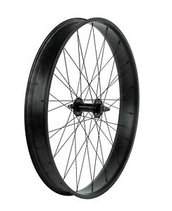 """7-speed Black Bicycle Fat Rear Wheel26"""" x  4.0 x 80MM Disc Brake Mount Available"""