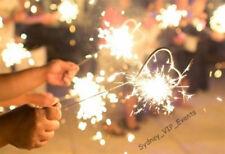 Party Supplies Sparkler Shape Heart Silver Year Christmas Birthday Wedding