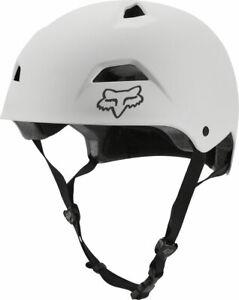 NEW Fox Racing Flight Sport Helmet - White/Black Small