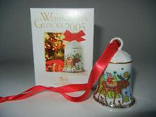 Hutschenreuther Weihnachtsglocke Porz. 2005 Land der 1000 Seen (int.Art. 2005-4)