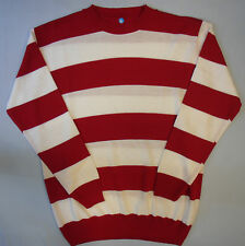 Adults Fancy Dress Jumper Striped Freddy Krueger Dennis the Menace Prisoner