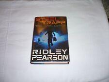 SIGNED-STEEL TRAPP: THE CHALLENGE by Ridley Pearson 1st Edition/1st Printing-New