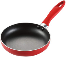 Tescoma Mini Non-Stick Frying Pan, Red 14cm for Eggs Pancake Omelette SEE VIDEO!