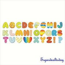 26 Alphabet Removable Educational Wall Stickers Kids Nursery Decal Decor Art