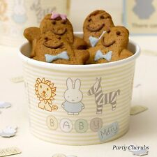 Treat Tubs - Baby Miffy Them x 8 tubs - 1st Birthday /Baby Shower