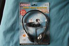 Omega HP-23 Digital Stereo Headphones Over ear MP3/CD/MD/PC Smartphone UK Seller