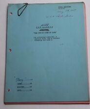 The Lineup * 1957 Original TV Show Script * Warner Anderson, Season 4 Episode 14