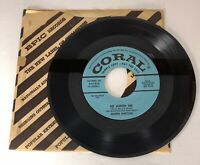 ROCK-A-BILLY 45 RPM - EILEEN BARTON ON CORAL RECORDS - PROMO *******************