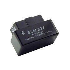 Super Mini ELM327 Bluetooth OBD2 Car Diagnostic Scanner + Data Logging - Black