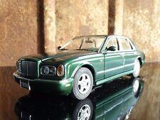 Franklin Mint 1998 Bentley Arnage Green 1:24 Scale Diecast Metal Model Sedan Car