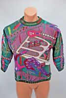 VTG 90s coogi sweater one of a kind KIDS YOUTH 12/14 Rare Rock'N'Roll Guitar