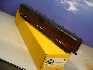 BRASS O Sunset 2 Rail Pennsylvania Railroad Heavyweight Horse Car C/P NO RESERVE