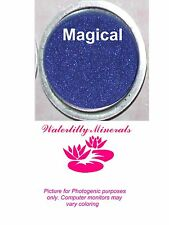 Magical Minerals Shadow Bare Makeup Eyeshadow Blue Purple Full Size New/Sealed