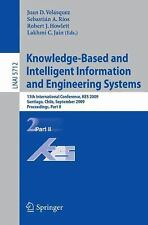 Knowledge-Based Intelligent Information and Engineering Systems Pt. II : 13th...