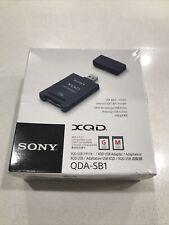 Brand new! Sony Xqd card reader / Usb 3.1 Super Speed Qda-Sb1