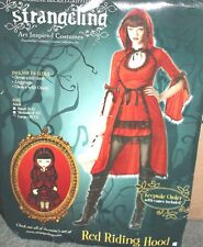 Sexy Strangling Red Riding Hood Women's Costume Size Large 10 -12