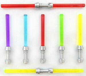 NEW LEGO STAR WARS LIGHTSABER LOT minifig red blue yellow green maul luke yoda