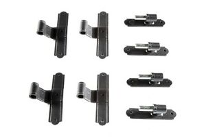 T-Hinges set with Pintels made in Italy