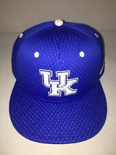 sports shoes 3f6e6 847c3 Nike TRUE Performance Dri-Fit UK Kentucky Wildcats Hat Fitted Blue White Cap  UK
