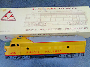 American Models Union Pacific FP-7 #1498 Hardly Used In The Original Box
