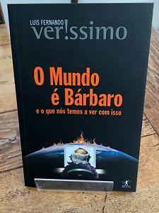 o mundo e barbaro - by louis fernando ( portuguese edition )