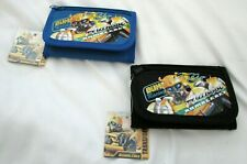 Transformers Bumble Bee Black And Blue Tri-Fold Easy Closure Set Of Wallets-New!