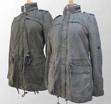 Ladies LEVI's Strauss Hooded Womens Jacket / Coat Grey Green S M L XL BNWT