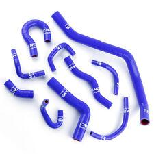 10pcs Silicone Coolant Radiator Hose Kit for 88-91 Honda Civic CRX D15 D16 EE ED