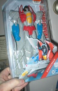 TRANSFORMERS ACTION FIGURE STARSCREAM. NEVER OPENED. FROM HASBRO.