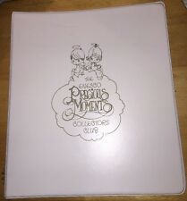 Precious Moments Collector's Club 3-Ring Hardcover Binder